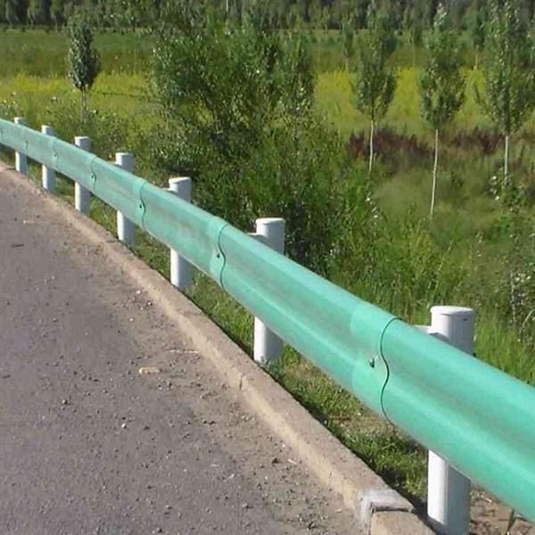 高速护栏安装、打桩